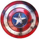Drg0n Captain America Shield Full Metal Marvel Handheld Props Creative Toy Props Captain America Red