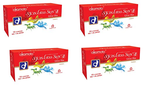 Skinless Skin Condoms - Ultra Thin (Okamoto, Japan) (4.00)  available at amazon for Rs.280