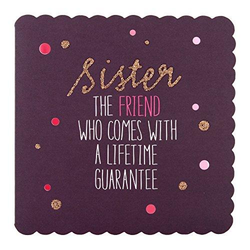 Hallmark Biglietto Di Auguri Di Compleanno Per Sorella Lifetime