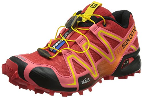 Salomon Donna Speedcross 3 Scarpe da trail running rosso Size: 37 1/3