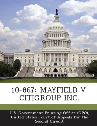10-867-mayfield-v-citigroup-inc