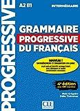 Grammaire progressive du français - Niveau intermédiaire - 4ème édition - Livre + CD + Livre-web 100% interactif