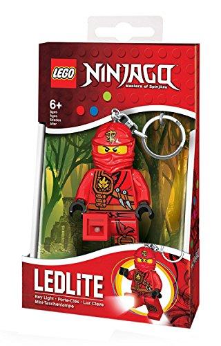 Preisvergleich Produktbild LEGO Ninjago Minitaschenlampe - Kai, circa 7,6 cm IQ40263