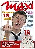 Biglietto compleanno auguri rivista settimanale 18 anni amico