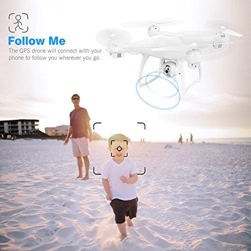 Zoom IMG-1 potensic drone gps con telecamera