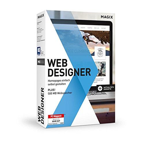 Magix Web Designer Websites einfach selbst erstellen