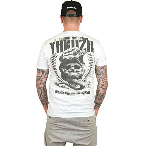Yakuza Premium T-Shirt 2201 natur Weiß
