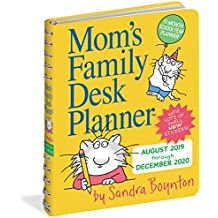 Mom's Family Desk Planner Calendar 2020