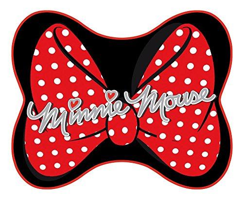 Mickey Mouse 27007 Minnie Mouse Seitenscheiben-Sonnenblenden in Haarschleifen-Kontur, 30 x 40 cm, 2 ()