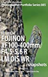 Foton Electric Photo Books Photographer Portfolio Series 085 FUJIFILM FUJINON XF100-400mmF4.5-5.6 R LM OIS WR snapshots: using X-T2 (English Edition)