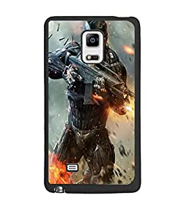 PRINTSWAG SOLDIER Designer Back Cover Case for SAMSUNG GALAXY NOTE EDGE