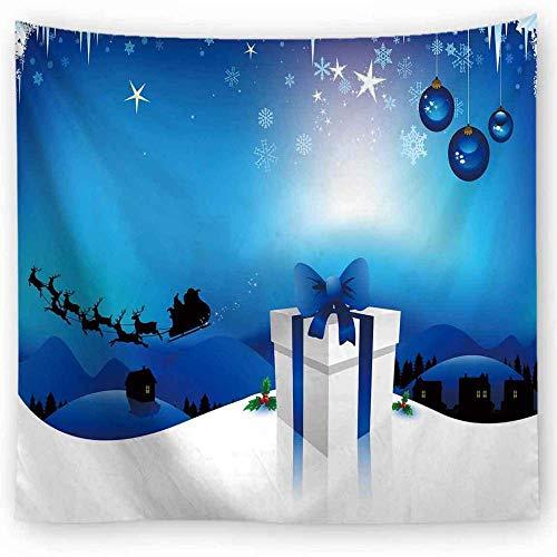 Tapiz De Pelota Pequeña-Tapiz Navidad Colgante Pared