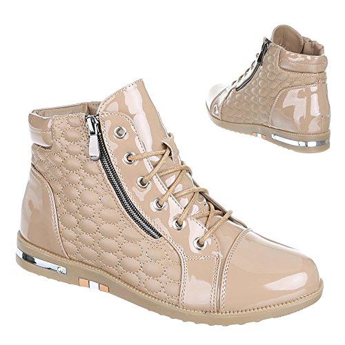 Chaussures, b10H kB-doublure à chaud, loisir Beige - Beige