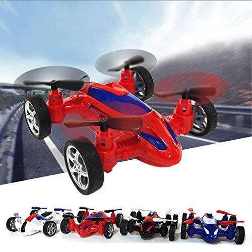 Voiks Drohne fliegendes Auto, langlebige Kinderfernbedienung Inertia Spielzeug Auto Mode Frühkindbildung Material