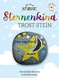 The Art of Stone STERNENKIND TROST-Stein - für trauernde Eltern - Motiv 3 - Mut und Trostspender zugleich