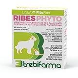 Trebifarma Ribesphyto Mangime Complementare per Cani/Gatti - Supporto Funzione Dermica - 40 gr