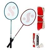#10: Silver's Kids SIL-SM-JR-Combo-6 Aluminum Badminton Set