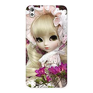 Looks Of Angel Doll Multicolor Back Case Cover for HTC Desire 816
