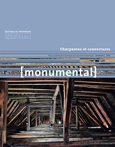 Monumental 2016-1 Charpentes & Couvertures par Collectif