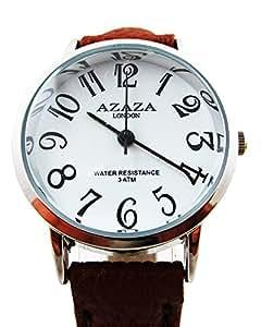 Classy Fashion Ladies Watch / Watch For Women Brown Leather Strap Analog Wrist Watch