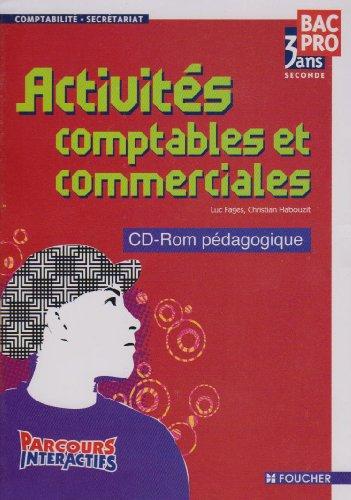 Activités comptables et commerciales BAC PRO seconde (1Cédérom)