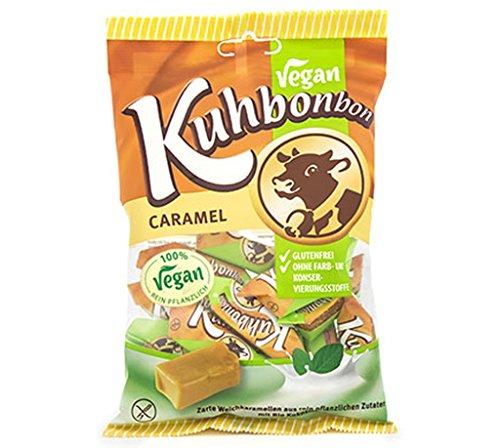 Vegan Kuhbonbon Caramel - Weichkaramellen mit Bio Kokosmilch und Kakaobutter
