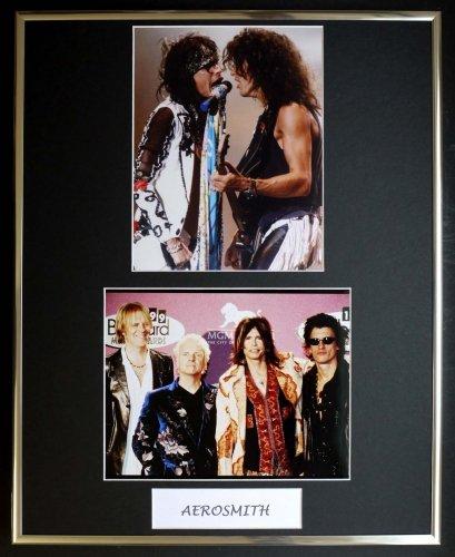 AEROSMITH/ DOUBLE PHOTO DISPLAY / GERAHMT (Aerosmith Sammlerstücke)