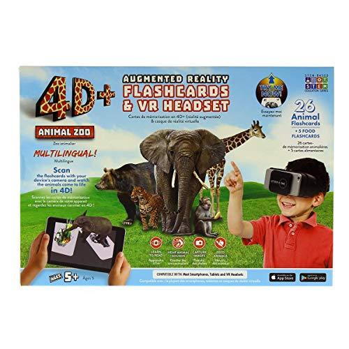 ReTrak Zoo Bundle Augmented Reality Karten mit VR Headset