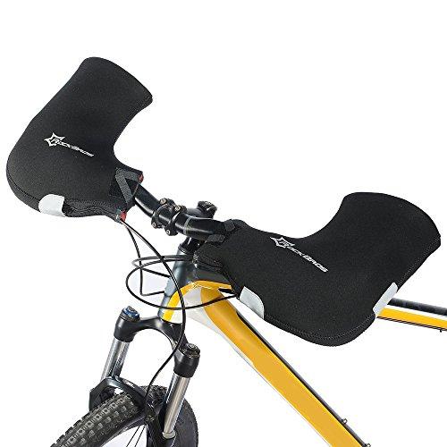 Docooler 1 Paar Lenkerhandschuhe/Radsport Handschuhe/Fahrrad Lenker Handschuhe Handwärmer Handabdeckungen Für MTB/Motor/Fahrrad, Dicke: 6mm/Wasserabweisendes Material
