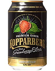 Kopparberg Strawberry & Lime 4% 12X330Ml Can