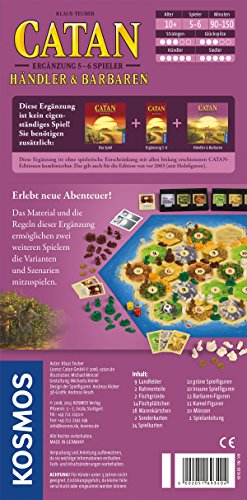 Kosmos-693404-Catan-Hndler-und-Barbaren-Ergnzung-fr-5-6-Spieler-Strategiespiel