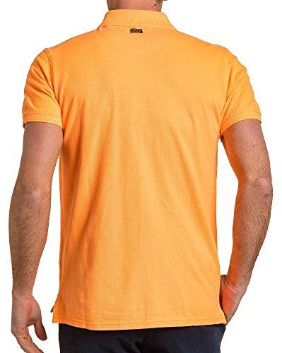 Petrol Industries - Piqué Polo fluoreszierende orange Mann Orange