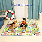 Chhel Double Side Water Proof Play and Crawl Extra Large Size Baby Mat