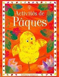 Activités de Pâques (Activités autocollants)