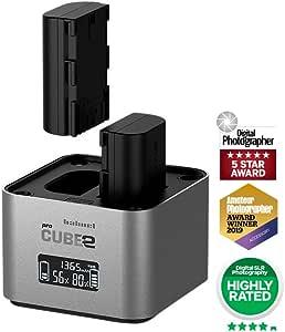 Hähnel Pro Cube 2 Canon 10005700 Kamera Ladegerät Kamera