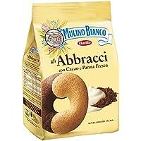 3x Mulino Bianco Abbracci Italian Biscuits Cookies 700g