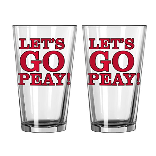 Boelter Brands NCAA Austin PEAY Gouverneure Slogan Pint, 473 ml, 2er Pack