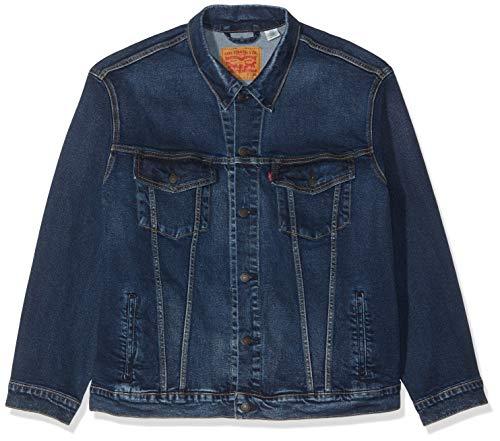 Levi's Herren Big Trucker Jeansjacke, Blau, XX-Large (Herstellergröße: 2XL) (Levi Männer Für Jeans-jacke Blaue)