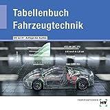 Tabellenbuch Fahrzeugtechnik - CD zur 26. Auflage des Buches