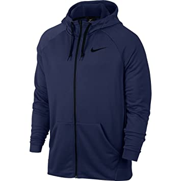 Nike Men's Dry Fleece Jacket with Hood, Men's, Dry Fleece: Amazon ...