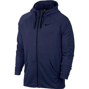 Nike Men's Dry Fleece Jacket with Hood, Men's, Dry Fleece: Amazon ...
