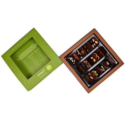 Vegane Schokoladen-Weltreise, 24 Mini-Tafeln mit veganen Zutaten - 2