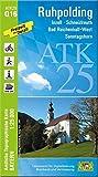 ATK25-Q16 Ruhpolding (Amtliche Topographische Karte 1:25000): Inzell, Schneizlreuth, Bad Reichenhall-West, Sonntagshorn (ATK25 Amtliche Topographische Karte 1:25000 Bayern)