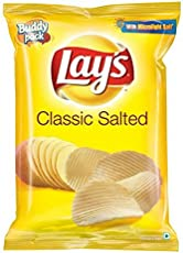Lays Classic Salted Chips, 52g
