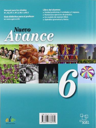 Nuevo avance. Per i Licei e gli Ist. magistrali. Con CD Audio: Nuevo Avance 6 alumno +CD