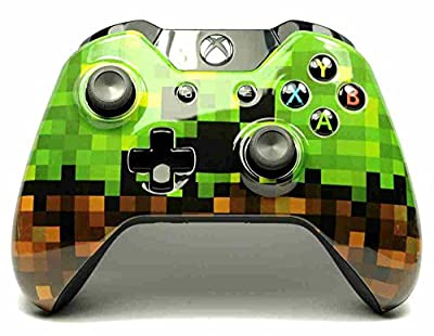Blocky Graphics Xbox One Custom Wireless Microsoft Controller - Control Blast UK