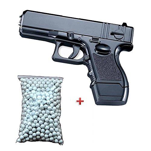 Galaxy Pack de regalo de pistola para Airsoft G26, de metal negro de 6