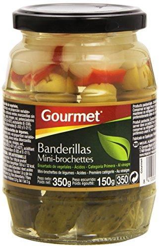 Gourmet - Banderillas - 330g - [Pack de 6]