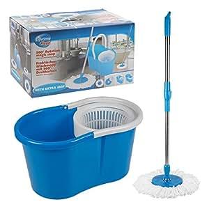 Balais + Seau (360 pivotant) avec poignée extensible Magic Mop LIFETIME CLEAN 53922- Nettoyage domestique - MWS2080