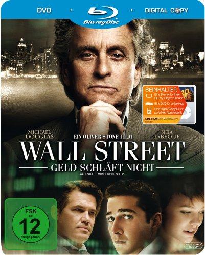 Wall Street - Geld schläft nicht (Steelbook, exklusiv bei Amazon.de) [Blu-ray]